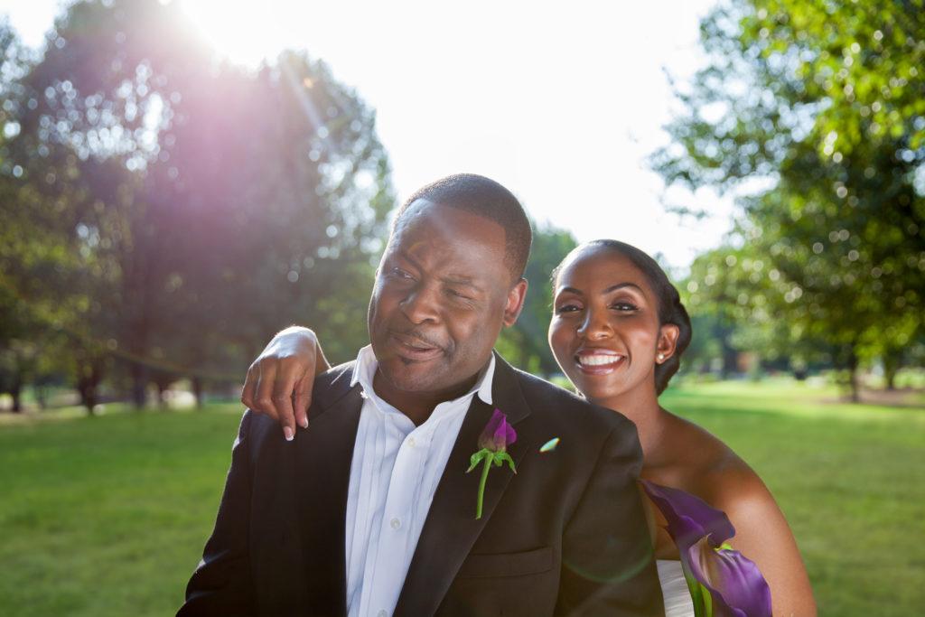 Wedding Day Portrait of Oscar & Christina ©Parker and Parker Photography